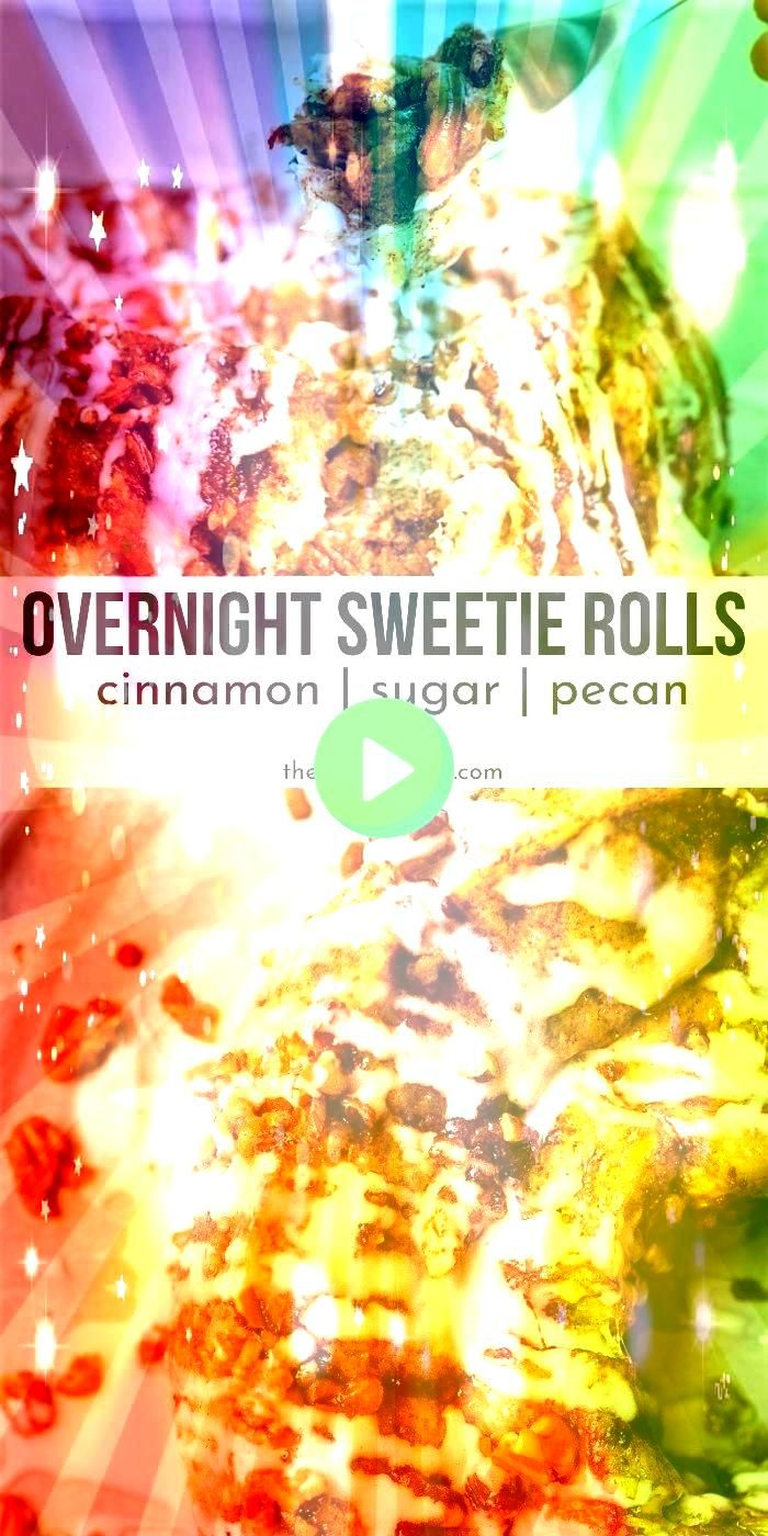 Sweetie Rolls are a super moist delicious sweet roll to make up A great Christmas morning breakfast idea to make for family and friendsOvernight Sweetie Rolls are a super...