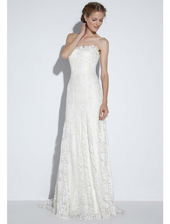 Nicole Miller Lace Wedding Dress