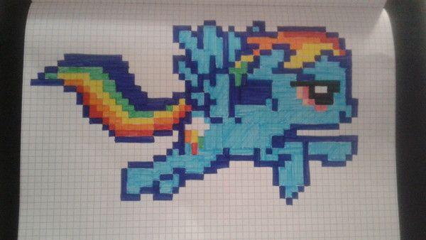My little poney animaux pinterest dessin pixel pixel et pixel art - Comment dessiner un poney ...