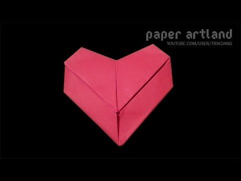 Photo of Origami for Kids: How to make an Origami Heart Letter for Valentines