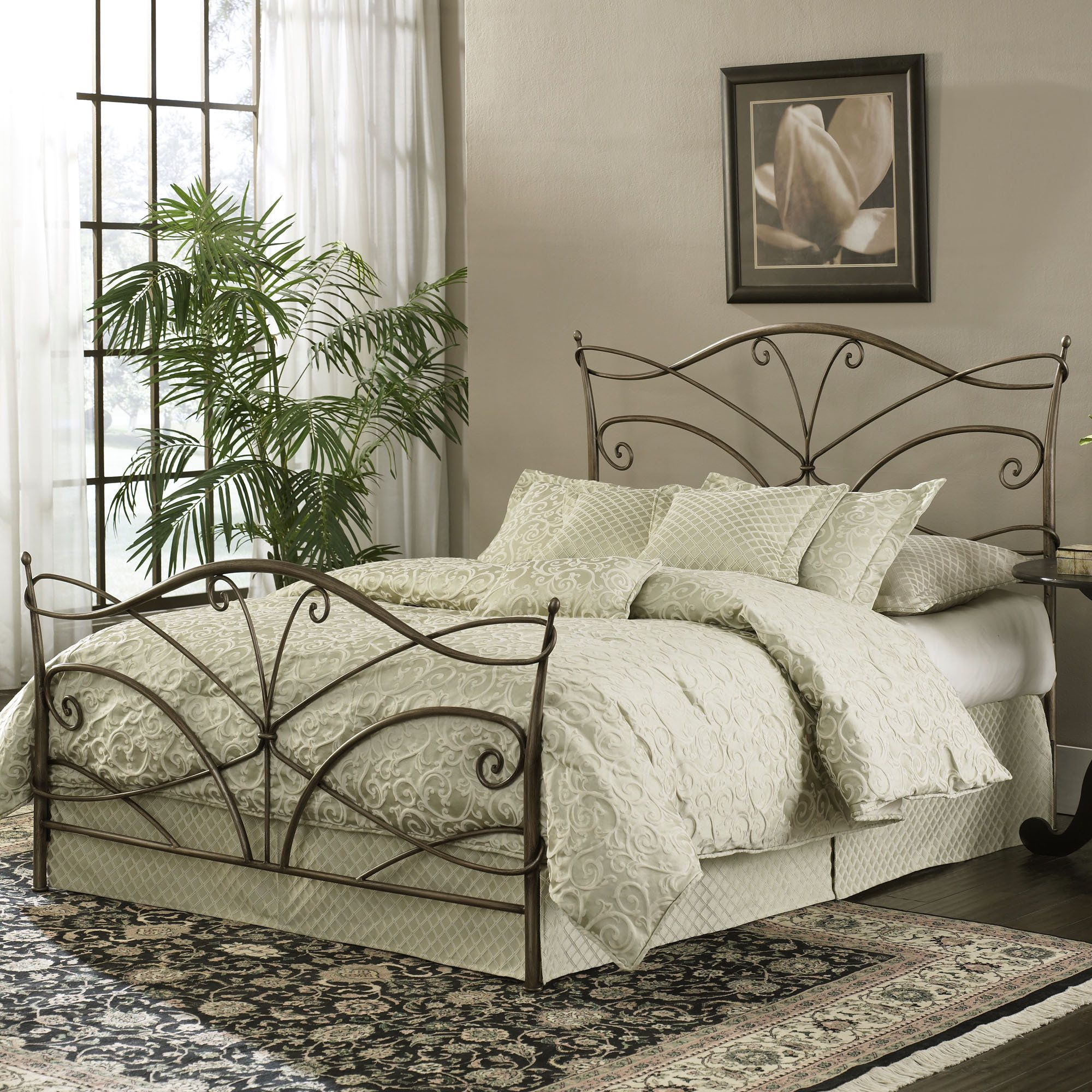 Various Types of Bed Frames Wrought iron beds