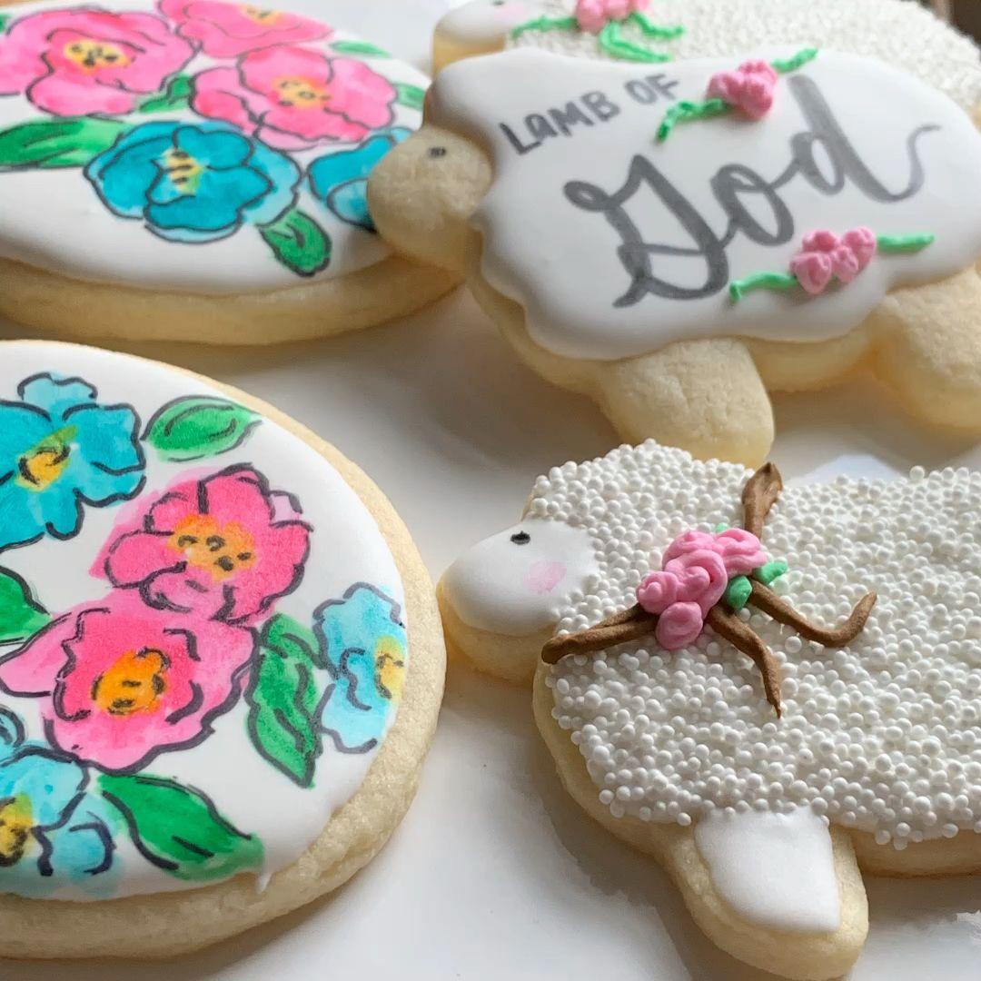 DIY Spring Cookies - Easter Sugar Cookies - Homema