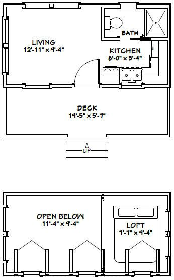 This Is A Pdf Plan Available For Instant Download 20x10 House Tiny 1 Bedroom 1 Bath Home With A Min Tiny House Floor Plans Tiny Guest House Shed Floor Plans