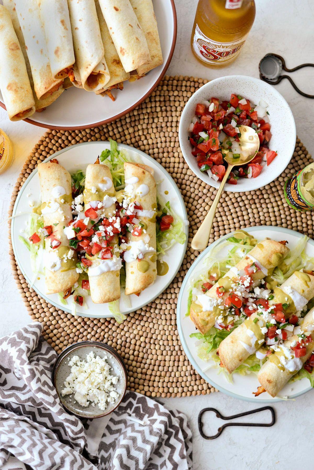 Air Fryer Salsa Chicken Taquitos Air fryer recipes, Air