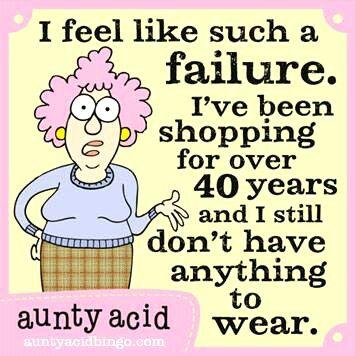 Me! Lol aunty acid
