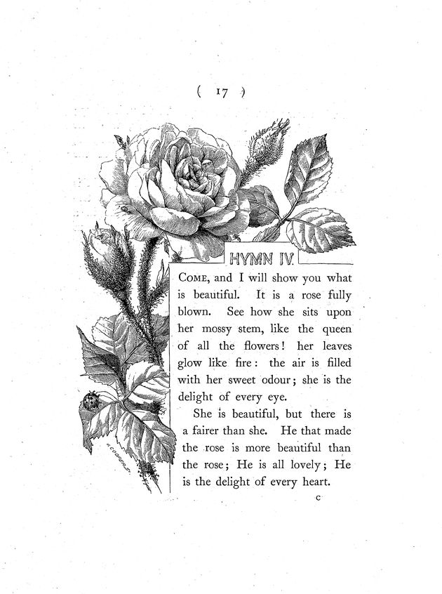 Hymns in prose for children  - Page 17