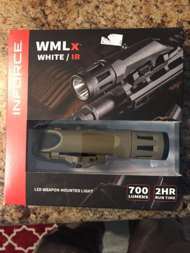 Other Camping Lighting 159092: Inforce Wmlx Gen2 Weapon Light White Ir Led 700 Lumens Picatinny Rail Dark Earth -> BUY IT NOW ONLY: $160 on eBay!