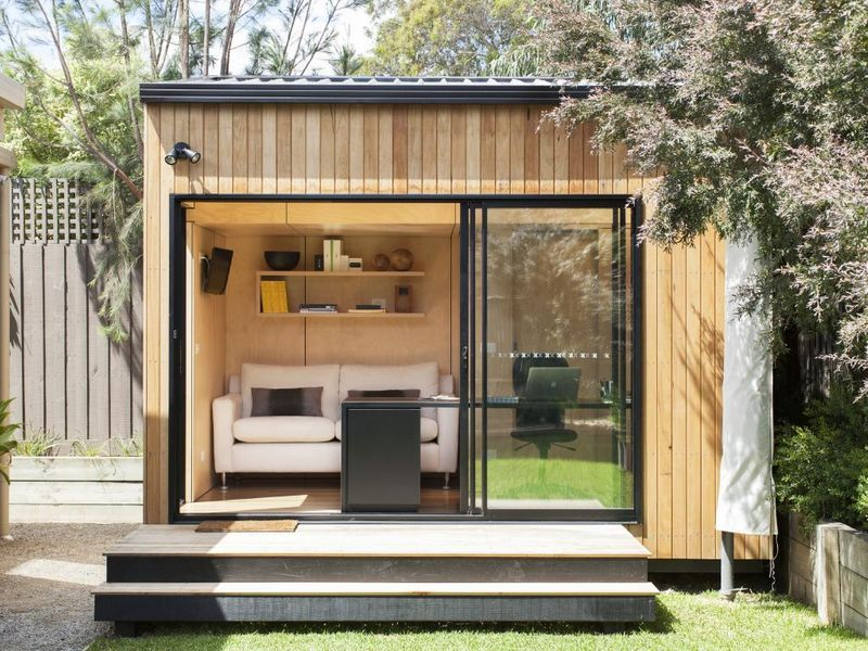 Backyard Studios Become A Style Statement In Your Garden Realestate Com Au Shed Design Backyard Sheds Livable Sheds