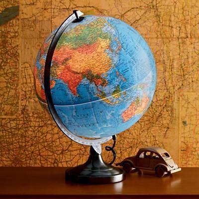 Illuminated Globe World Globe Lamp Night Light Kids Kids Desk Lamp