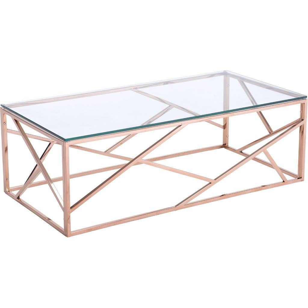 Candor Coffee Table Rose Gold In 2021 Rose Gold Coffee Table Gold Coffee Table Coffee Table [ 1024 x 1024 Pixel ]