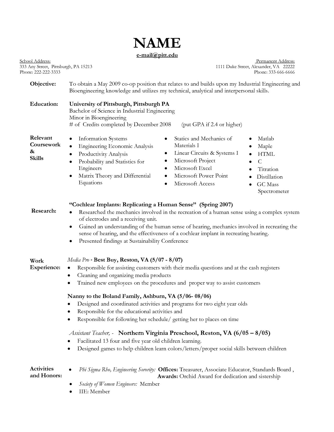 Chef Skills Resume Amazing Resume Examples For 19 Year Old  Resume Examples  Pinterest .