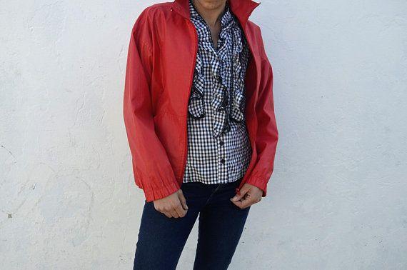 Veste impermeable femme vintage