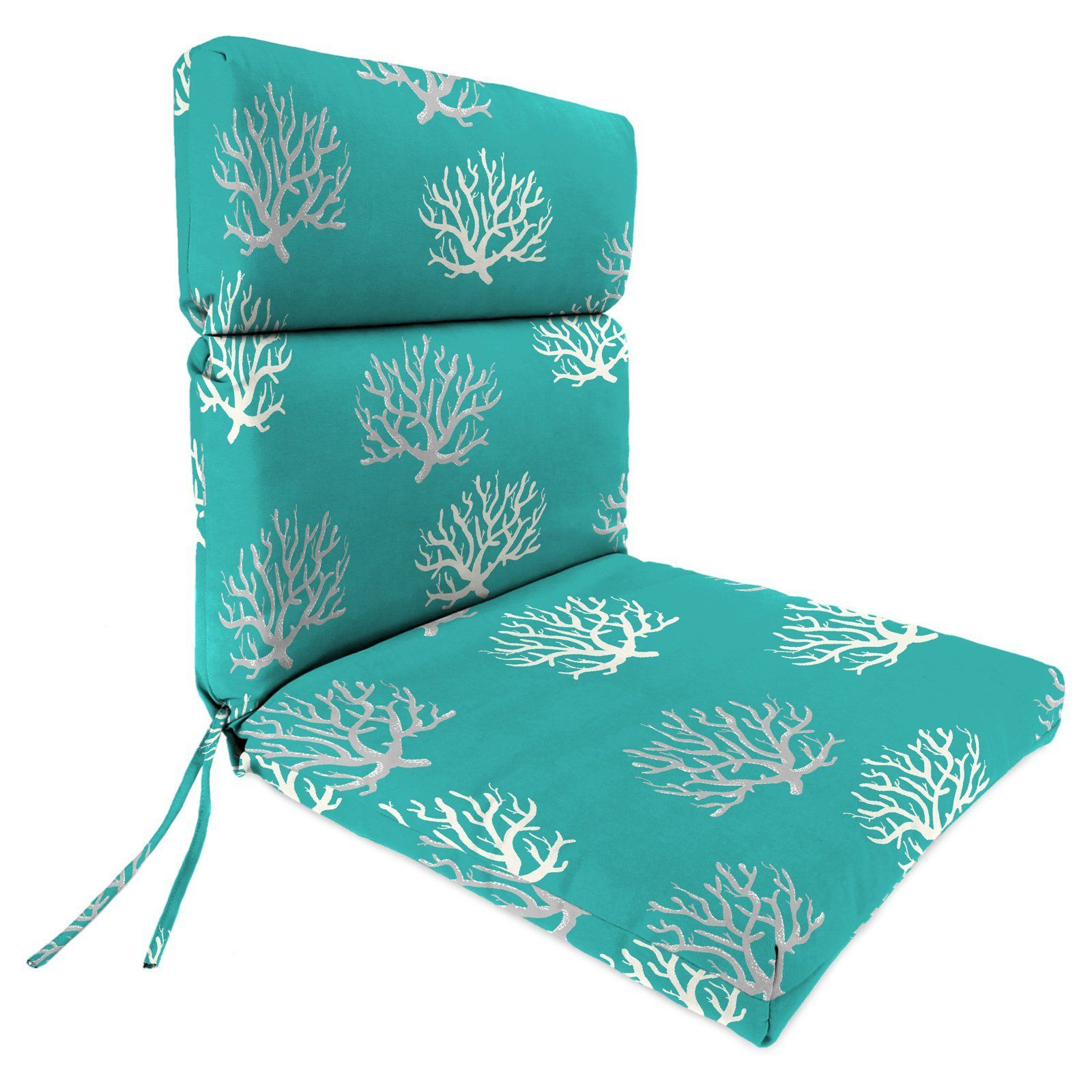 Jordan Manufacturing 44 In Double Hinged Outdoor Chair Cushion