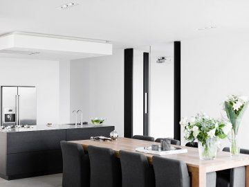 Veel wit strak modern huis sandra pinterest