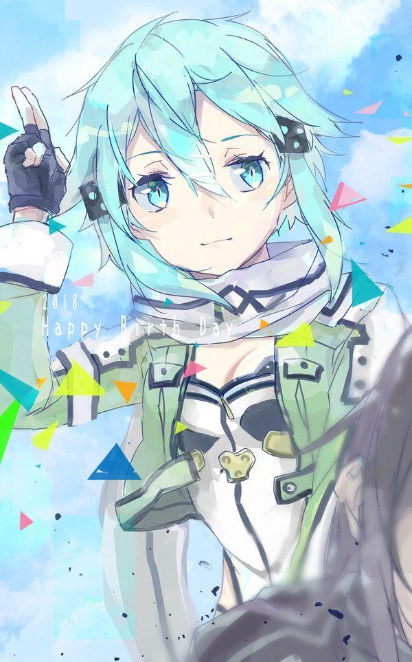 Sinon. しのん Sword art online wallpaper, Anime art, Art