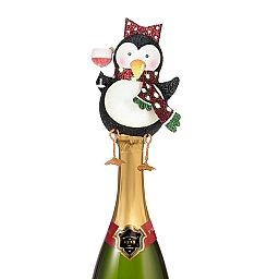 Dangly Penguin Wine Bottle Decoration 25-48704-A Mark Roberts : Digs...