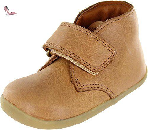 Bobux Wander, {Chaussures premiers pas pour bébé (garçon) marron marron -  marron