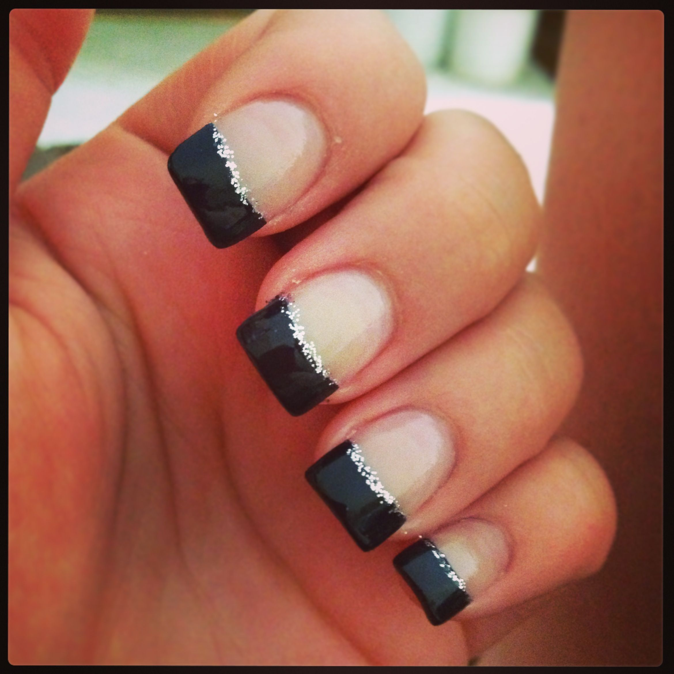 Navy nails to go with my bridesmaids dress   Nails to go, Prom ...