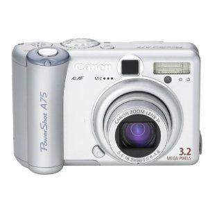 Canon Powershot A75 3 2mp Digital Camera With 3x Optical Zoom Electronics Http 234 Powertooldragon Com Redirector Php P B0 Digital Camera Powershot Camera