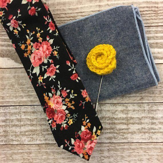Men's Lapel Pin, Lapel Pin, Crochet Lapel Pin, Wedding Lapel