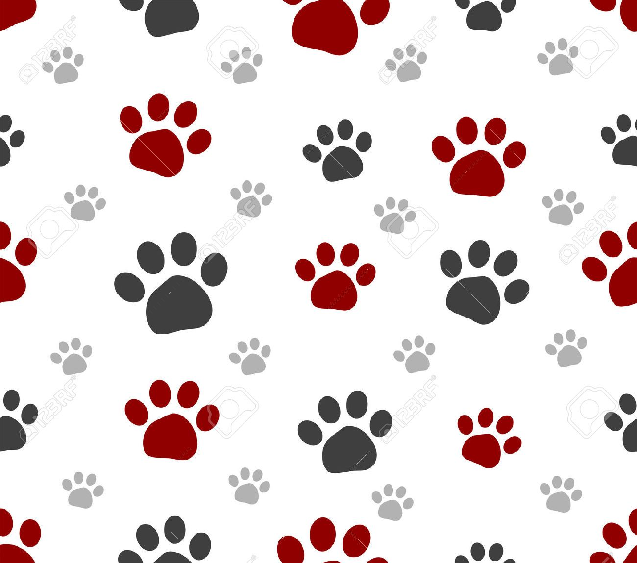 4285204 seamless paws pet design for background banque dimagesg 4285204 seamless paws pet design for background banque voltagebd Gallery