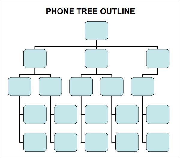 Phone Tree Template  Google Search  Technology    Babies