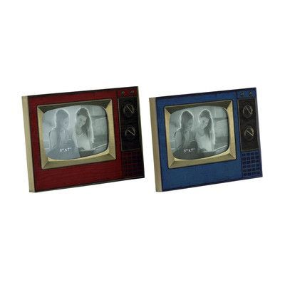 Cole & Grey Metal Picture Frame (Set of 2)