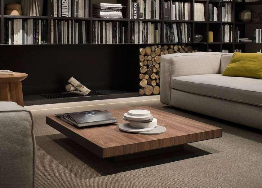 Tavolini da salotto in legno moderni - Tavolino da salotto basso ...