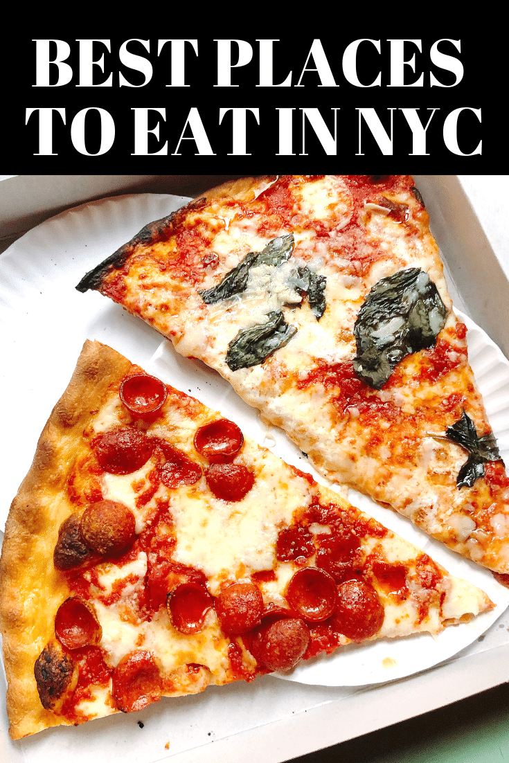 The Best Places To Eat In Nyc Coffee Shops Italian Food The Best Bagels Pizza And More All In Best Food In Nyc Best Pizza In Nyc Italian Restaurants Nyc