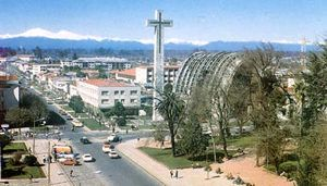 Chillan, Chile, home of the Adventist University of Chile.