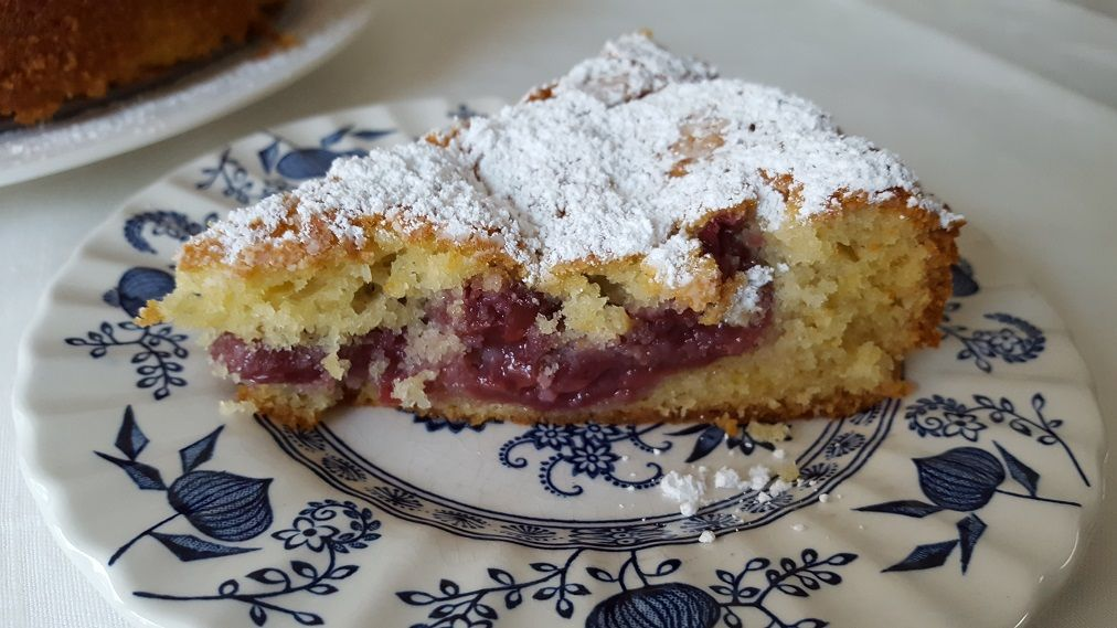 Easy And Delicious German Sour Cherry Cake Recipe Recipe In 2020 Cherry Cake Recipe Sour Cherry Cake Recipe Sour Cherry Recipes