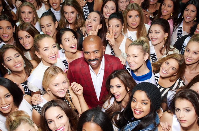 Steve Harvey Confirmed To Host Miss Universe 2016 He Is