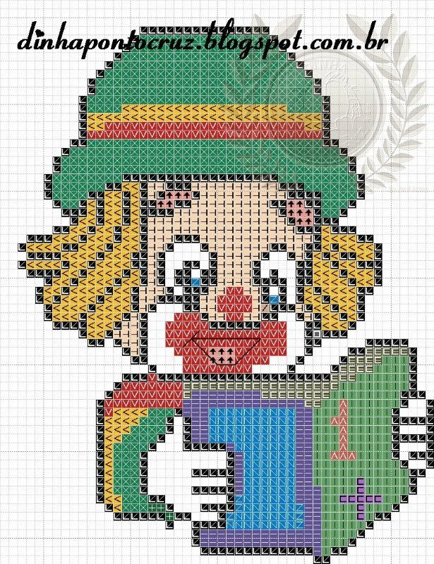 CHARMS IN POINT CROSS | pixel crochet blanket | Pinterest | Stickmuster