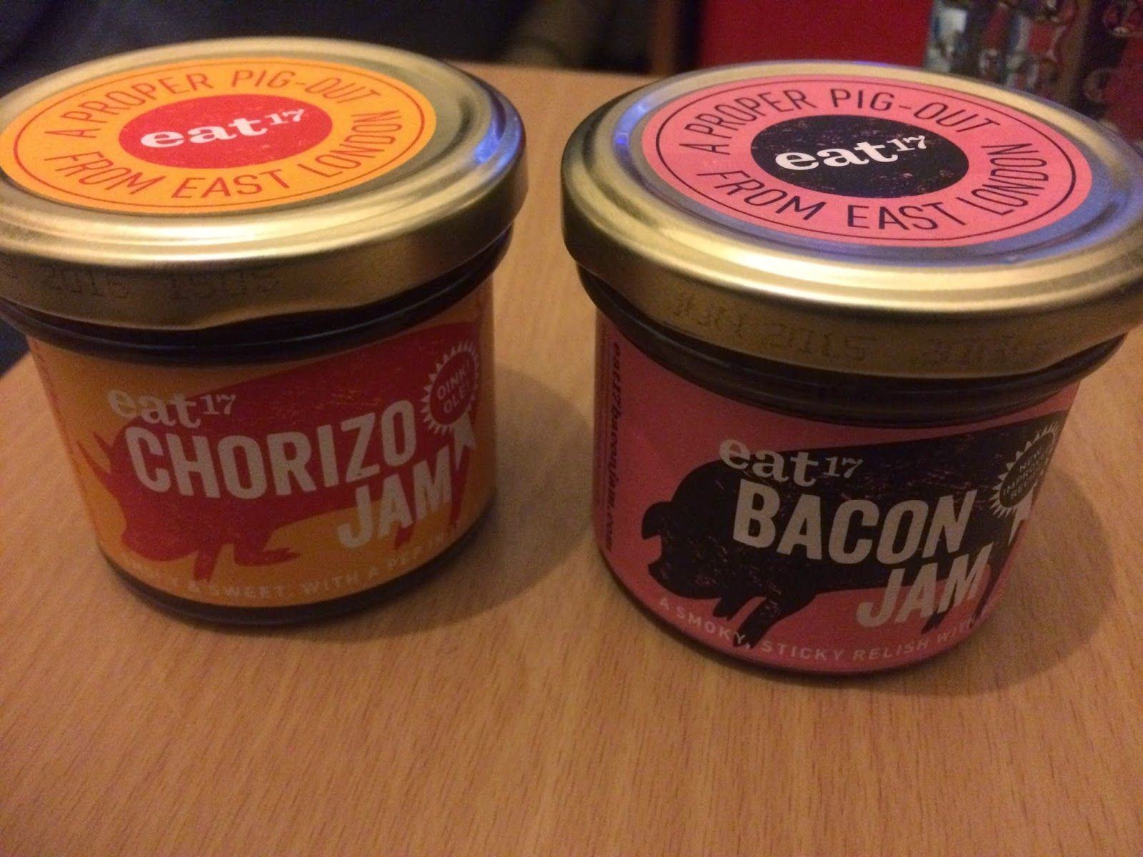FOODSTUFF FINDS: Bacon Jam (yes - really) & Chorizo Jam @EAT_17 [by @NLi10]