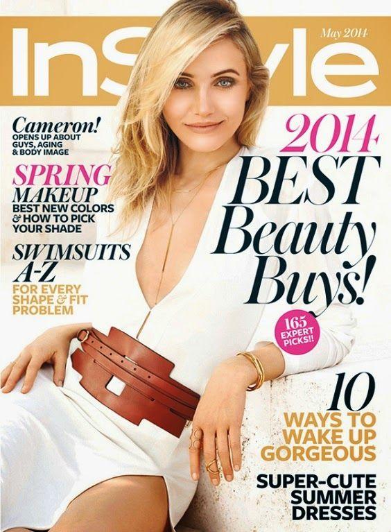MyMy .. The No Feminist Blog: Cameron Diaz en couverture du InStyle Magazine - M...