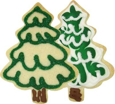 Christmas Tree Cookie Cutter (Full) Cookie Decorating Ideas