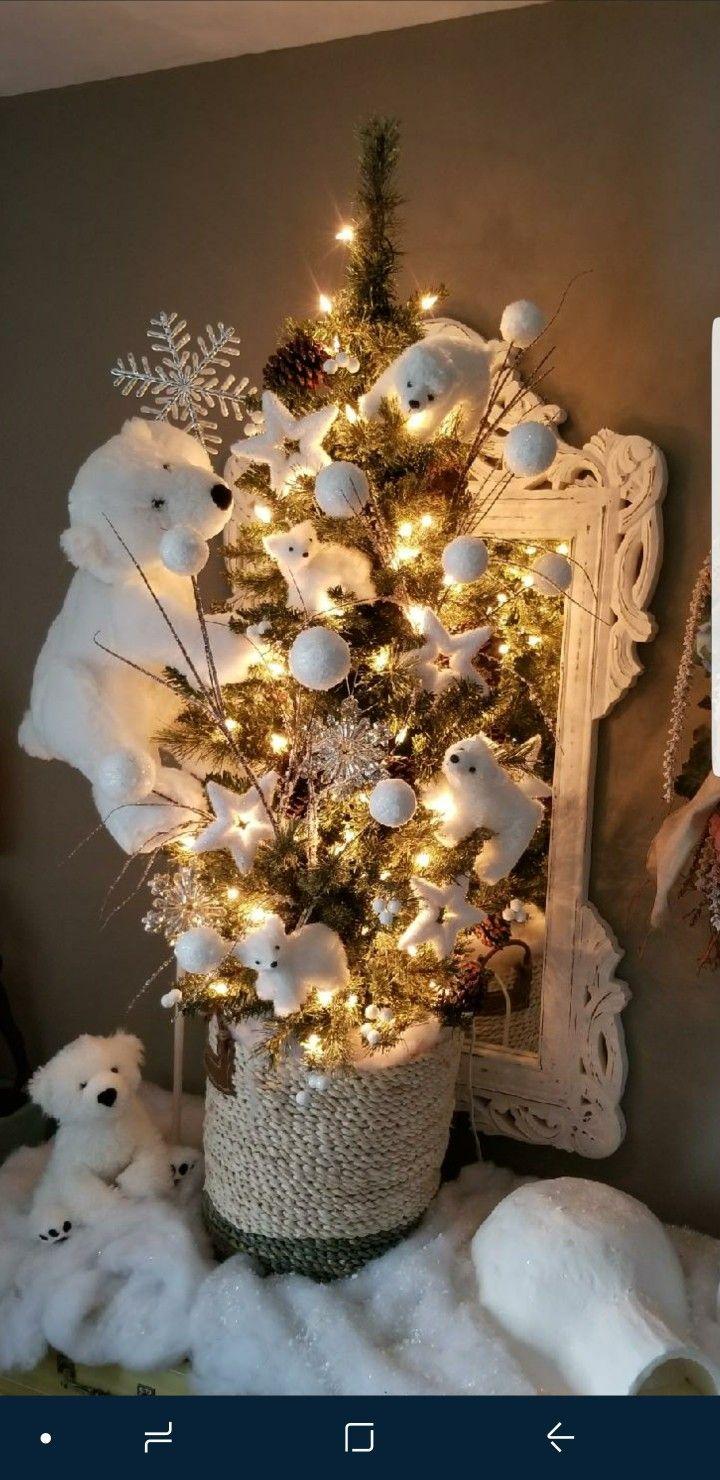 Christmas Tree Mini Polar Bear Tree Cool Christmas Trees Christmas Tree Inspiration Unusual Christmas Trees