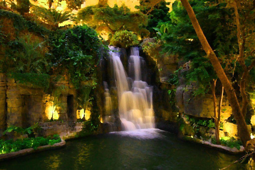 Indoor Waterfall Indoor Waterfall Indoor Water Fountains Backyard Pool Landscaping