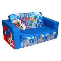 Dc Super Friends Foam Flip Sofa Bed 79 99
