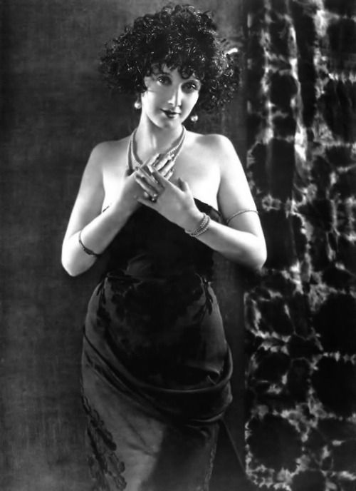Silent Film Star Mae Busch, 1920S -Via Sisterwolf -3365
