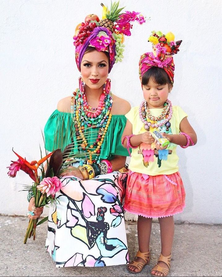 carmen miranda costume from lilylove213 kost me ideen pinterest kost m kost me. Black Bedroom Furniture Sets. Home Design Ideas