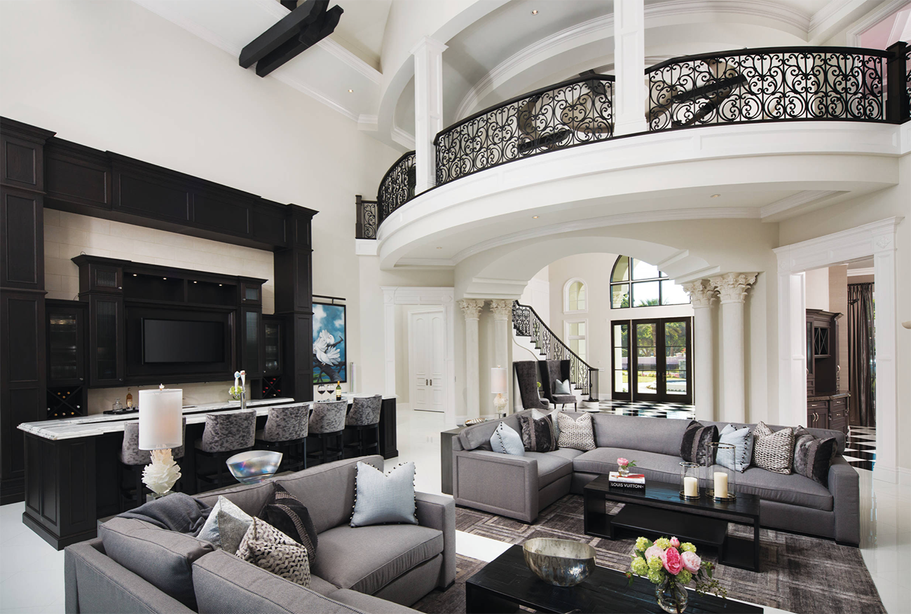 Extremely Modern Modern Rich Luxury Living Room Novocom Top