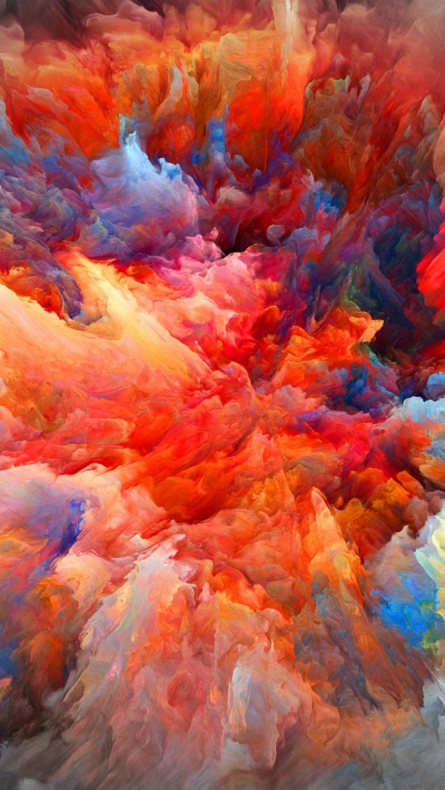 Explosion Of Colors iPhone 5s Wallpaper Iphone