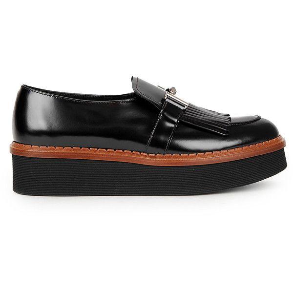 tassel flatform loafers - Black Tod's sf9PJu