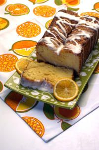 Meyer lemon pound cake - perfect for a baby shower brunch or to tuck in with a new mom dinner delivery.