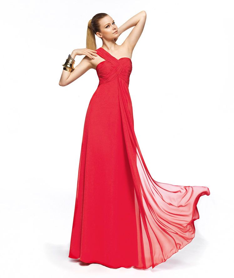 Pronovias te presenta su vestido de fiesta Zelig de la colección Dama de Honor 2013. | Pronovias