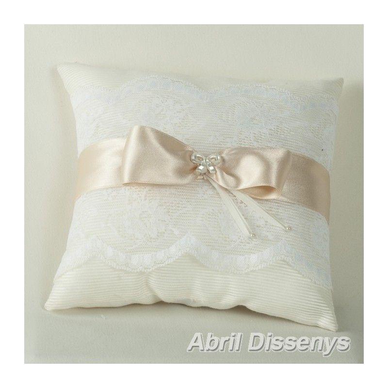 Los cojines para los anillos de boda complemento de boda - Cojines para cama matrimonio ...