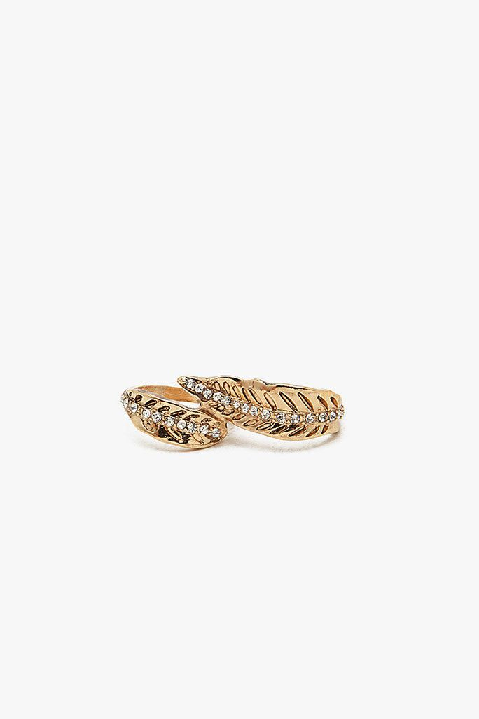 #A`Gaci                   #ring                     #A'GACI #Finger #Wrap #Leaf #Ring #ACCESSORIES      A'GACI Two Finger Wrap Leaf Ring - ACCESSORIES                                http://www.seapai.com/product.aspx?PID=1861926