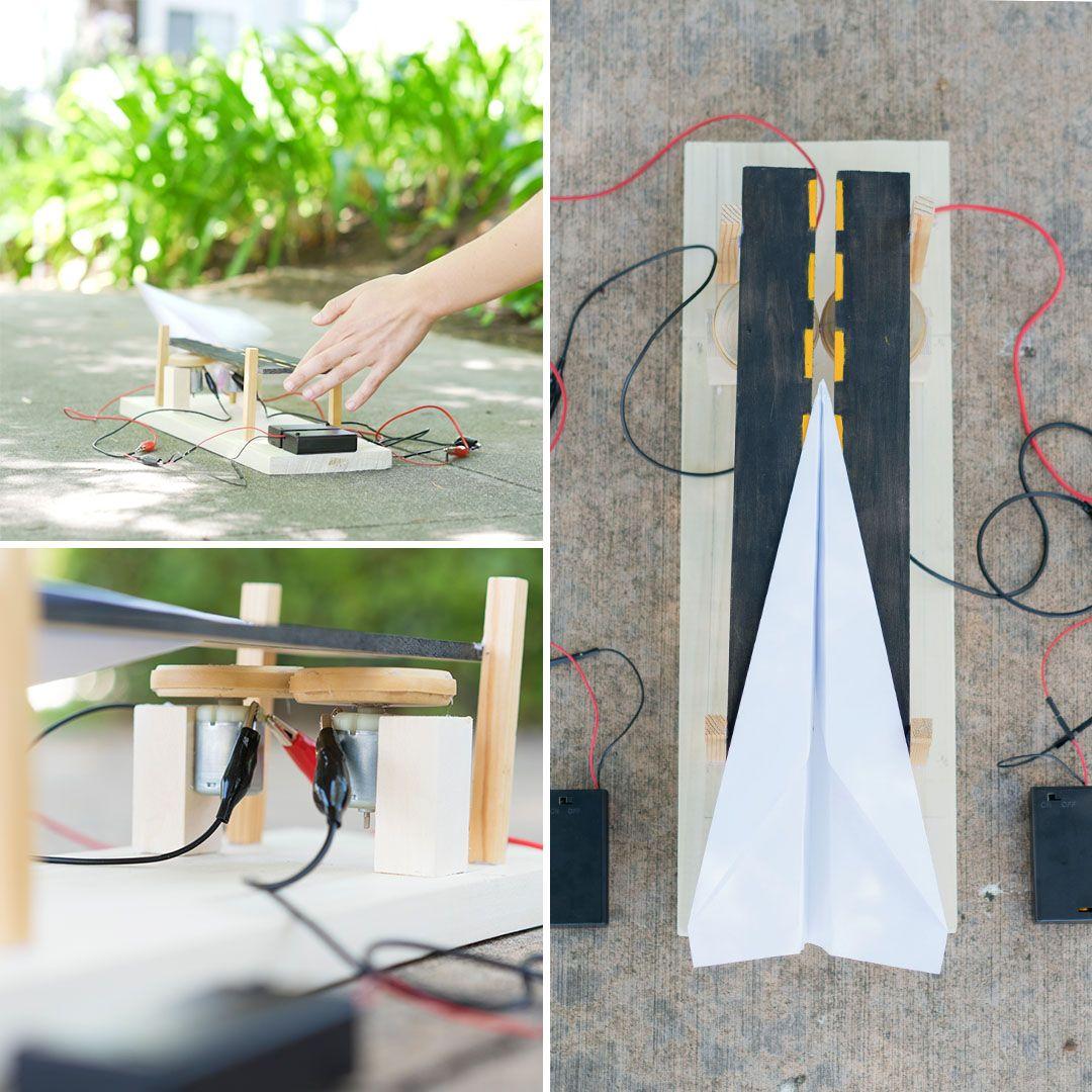 Science Museum Paper Plane Launcher