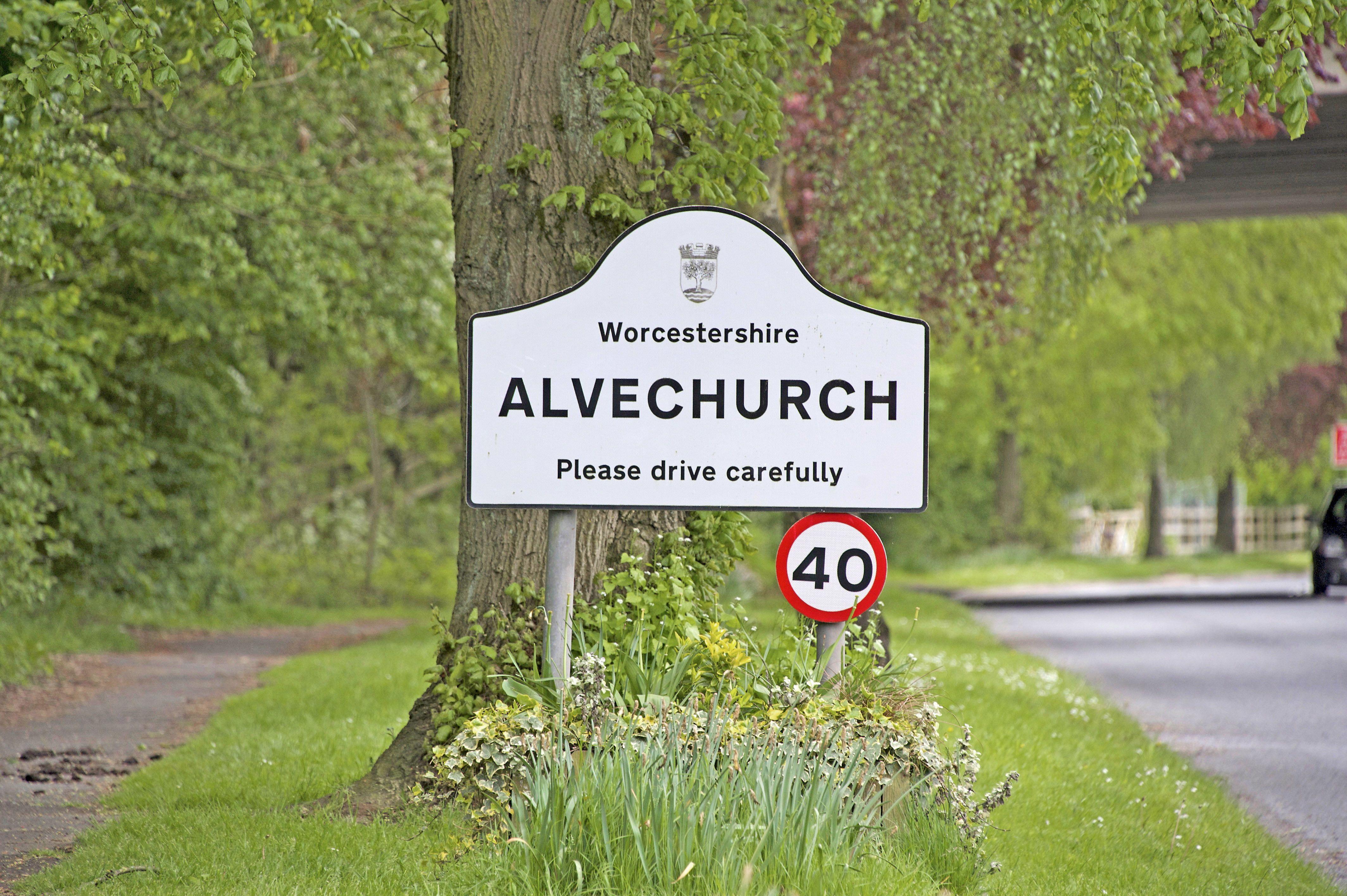 Alvechurch Sign